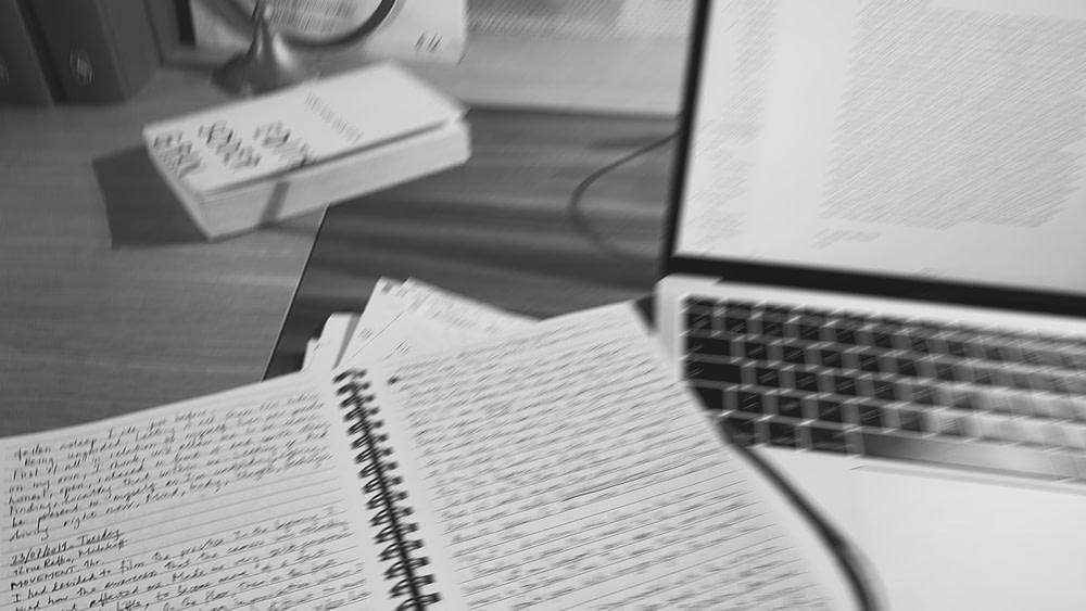 Journal d'entraînement – dans un carnet et sur l'ordinateur.